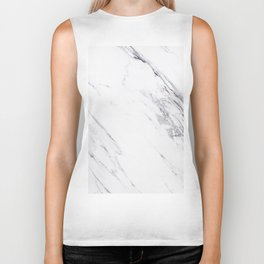 Marble - Classic Real Marble Biker Tank