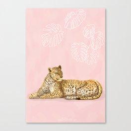 La Léopard Canvas Print