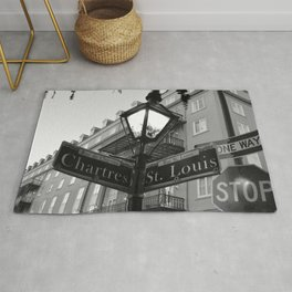 French Quarter, New Orleans streets Rug