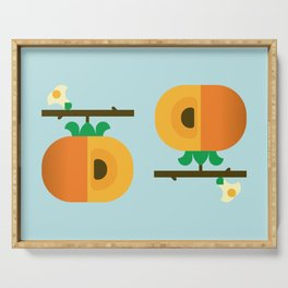 Fruit: Persimmon Serving Tray