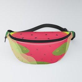 Watermelon Underwater Scene Fanny Pack
