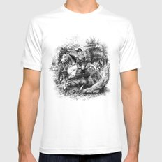 The Last of the Gnomes Mens Fitted Tee White MEDIUM