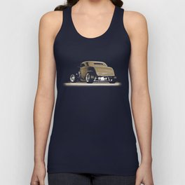 1932 Ford Hot Road Sepia Unisex Tank Top