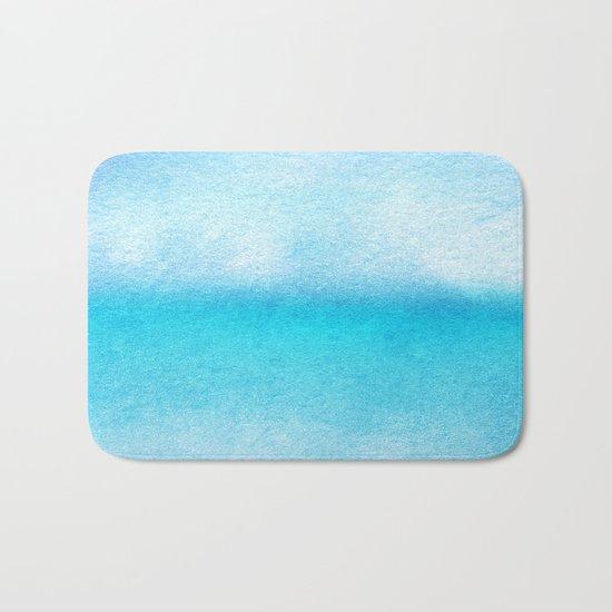 Tropical sea #9 Bath Mat