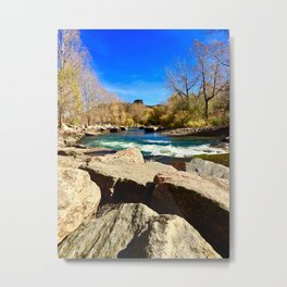 South table mountain over clear creek Metal Print