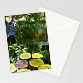 Greenery Pond Stationery Cards