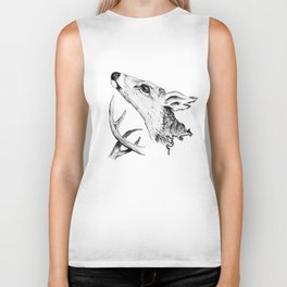 Deer -Come the thaw Biker Tank