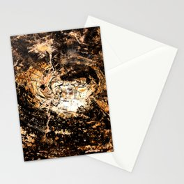 Petrified Tree Rings II Stationery Cards