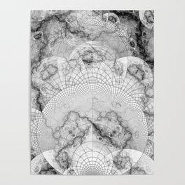 Foliated Marble as a Geometric Map of the Universe Poster