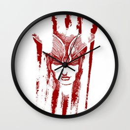 Beware the Scarlet Devil Wall Clock