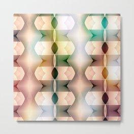 Polarized Geometrics Metal Print