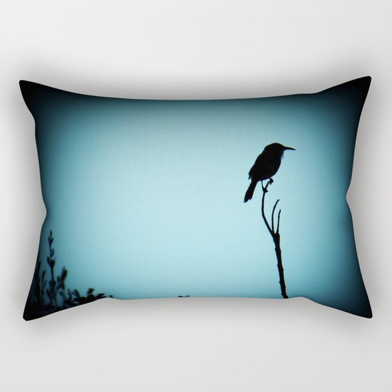 Perched Shadow Rectangular Pillow