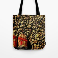 Shoes on the Rocks Tote Bag