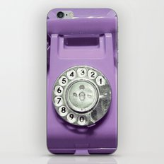 OLD PHONE - VIOLET EDITION for Iphone iPhone & iPod Skin