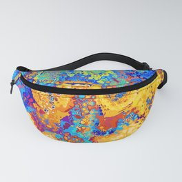 Colorful Cells Design Fanny Pack