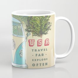 """Not all who wonder, are lost"" vintage inspired print Coffee Mug"