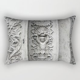 Details on the Wall Rectangular Pillow