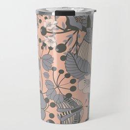 Blush Blooms Travel Mug