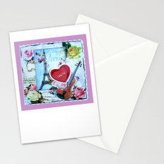 Paris Valentine Stationery Cards