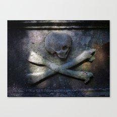 Tharrrrrr Be Pirates Canvas Print