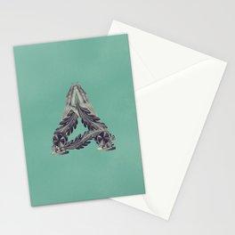 Letter A - Alphabet  Stationery Cards