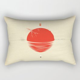 """Japan relief poster/all proceeds will go to """"Peace Winds"""" Rectangular Pillow"""