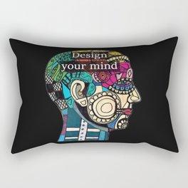 Mind blow Rectangular Pillow