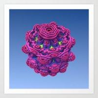 Jelly Flower Art Print