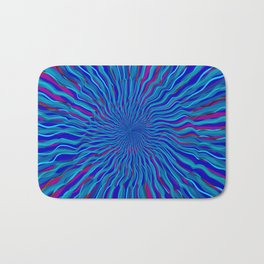 radial layers 4 Bath Mat