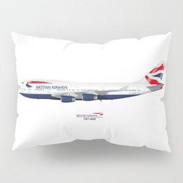 British Airways 747 Pillow Sham