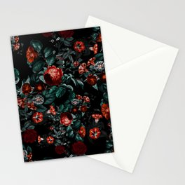 Midnight Garden II Stationery Cards