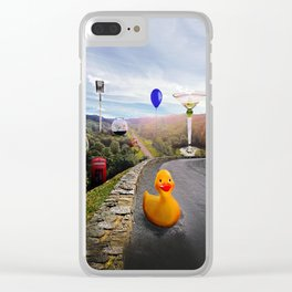Roadside Attractions Clear iPhone Case