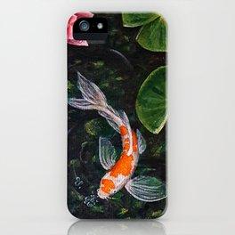 Koi Pond iPhone Case