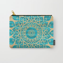 Summer Mandala Carry-All Pouch