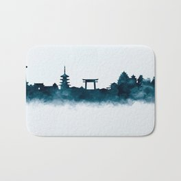 Kyoto Skyline Bath Mat