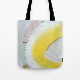 Waves: Lemon Tote Bag