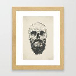 The beard is not dead Framed Art Print