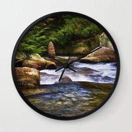 The Cairn at Blue Jay Creek Wall Clock