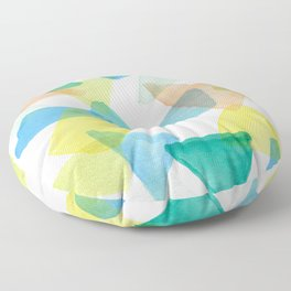 Boys Play Translucent Triangles Floor Pillow