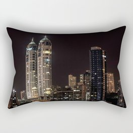 Mumbai India Skyline Rectangular Pillow