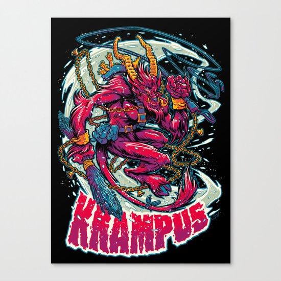 BEWARE THE KRAMPUS Canvas Print