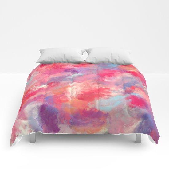 Heavens Clouds Comforters