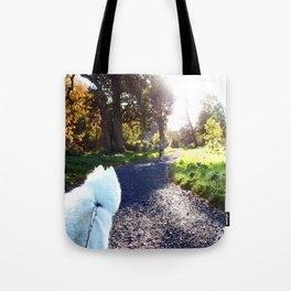 Ivanna the Samoyed Tote Bag