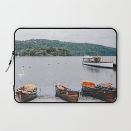 view of the lake in Windermere Laptop Sleeve