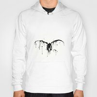 death note Hoodies featuring Death note by sgrunfo
