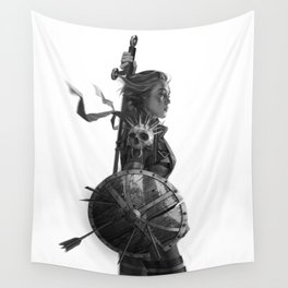 Warrior 6 Wall Tapestry