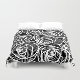 Midnight Roses Duvet Cover