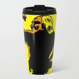 Pixelly Hogan Metal Travel Mug