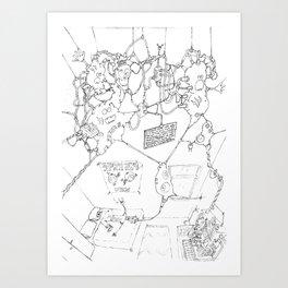 Gaf - Freak5 Art Print