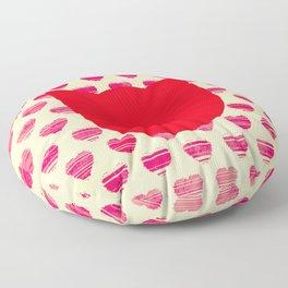 Pussyhat project, March on Washington design Floor Pillow